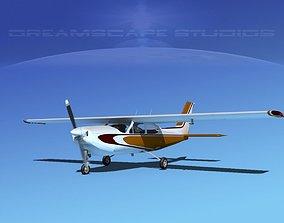 3D model Cessna C-177RG Cardinal V10