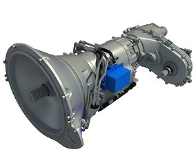 3D Ram Transmission Of Dodge