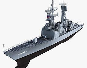 KeeLung Class Destroyer 3D
