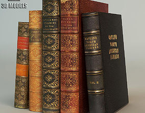 Old Books design 3D model