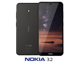 3D Nokia 3 2 Black equipment