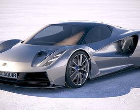 3D model Lotus Evija 2020
