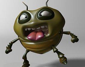 3D asset Cartoon Bug RIGGED