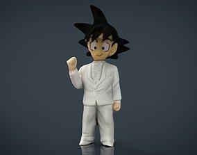 GOKU GROOM 3D model