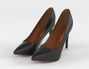 Women Shoes 3D model beauty