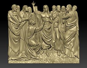 3D printable model Jesus and the twelve