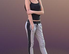Myriam 10272 - Standing Sport Girl 3D model