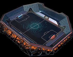 3D asset Glow Stadium 2 PBR