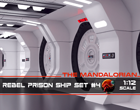 3D print model The Mandalorian - Rebel Prison Ship 4 4