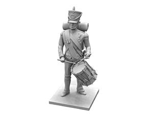 French Artillery Drummer 1809 3D printable model