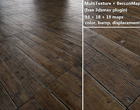 floorboards Parquet - Antique oak - MultiTexture 3D