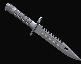 Phrobis M9 Bayonet High quality 3D printable model