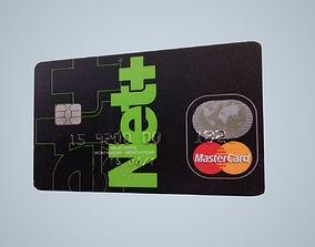 Netller Card - Master Card 3D model