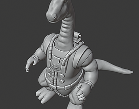 3D print model Bronto Thunder Dinosaucers