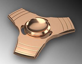 Tri-Star Fidget Spinner 3D