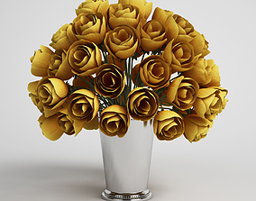 CGAxis flower basket 3D