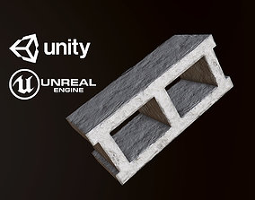 Cinderblock - PBR Game Ready 3D asset low-poly