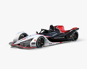 3D asset Porsche Formula E 2020
