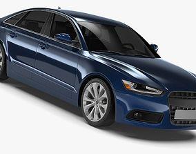 3D model Generic Sedan 1
