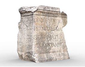 Perge Ancient Rock 7 3D asset