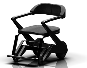 Wheelchair - Derive Chair 3D
