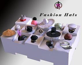 3D Fashion Hats World