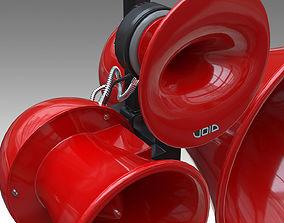3D Void Acoustics - Air motion