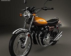 3D Kawasaki 900 Z1 Super Four 1973