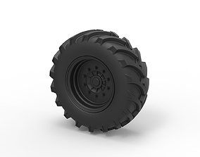 Diecast Offroad wheel 5 3D printable model