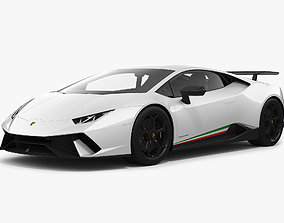 3D Lamborghini Huracan Performante
