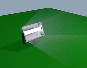 Searchlight - Stadium Spotlight - Floodlight - 3D model