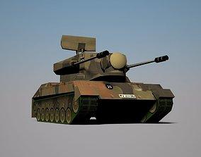 SPAAG Cheetah 3D model