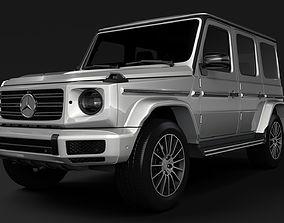 3D Mercedes Benz G 350d AMG Line W464 2020