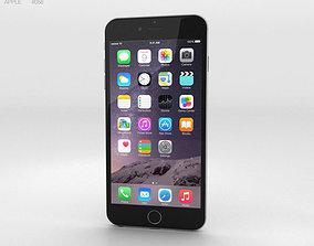 3D Apple iPhone 6 Plus Silver