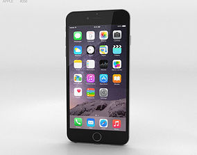 3D Apple iPhone 6 Plus Silver