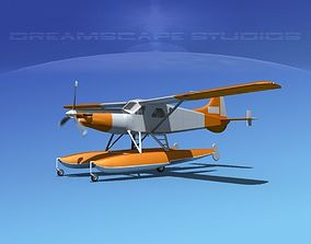 DeHavilland DHC-2 Turbo Beaver V04 3D model