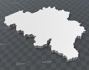 3D printable model Belgium
