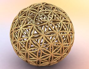 3D print model Flower of Life mandala
