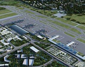 3D Airport 19 Chengdu Shuangliu International Airport