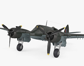 3D military Bristol Beaufighter