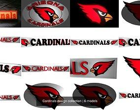 3D Cardinals design collection