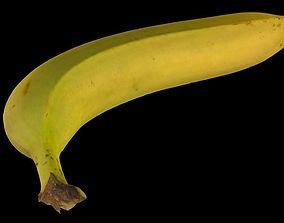 Banana fruit 3D asset realtime