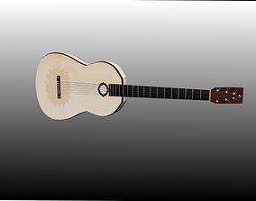 7 string guitar 3D