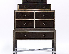 stacked 3D model Bernhardt Clarendon Stacked Chest