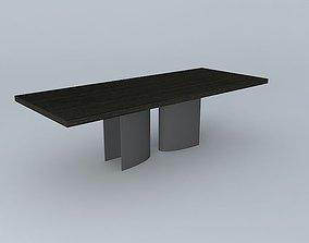 LUMA Silo Rectangular Dining Table 3D model