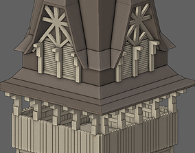 The euro church tower project based on Schroter 3D model