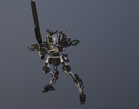 Titanfall 2 Ronin 3D rigged
