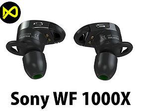 Sony 1000X Wireless Noise Canceling Headphones 3D model