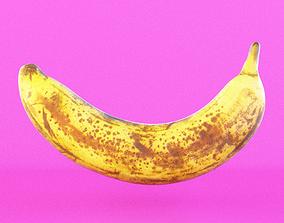 4K Realistic Banana 3D model