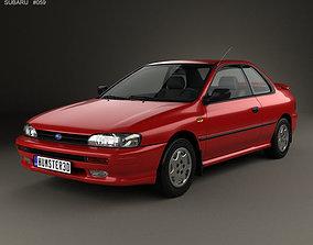 3D Subaru Impreza Coupe 1995